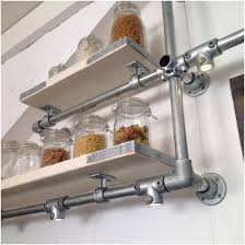 Wooden Gallery Shelf by Kitchen Wall Mounted Shelving Trends And Wooden Shelves Wood With