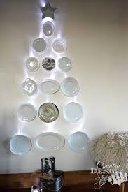 dish christmas tree country design style
