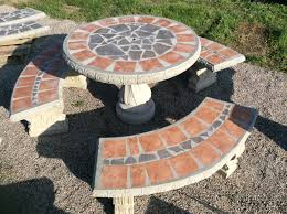 Concrete Patio Tables And Benches Patio Table Sets The Cement Barn Manufacturers Of Quality