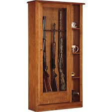 Wood Furniture Door American Furniture Classics 800 Classic Wood 8 Gun Cabinet Hayneedle