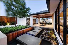 backyards appealing stepping stones water feature veranda