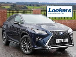 lexus rx blue lexus rx 450h f sport blue 2016 03 02 in hatfield
