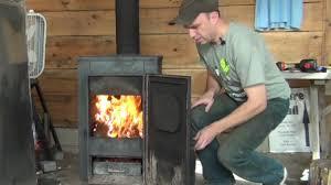 installing a new wood burning stove youtube