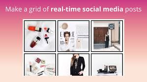 Social Media Grid Display Any Instagram Feed On Your Site