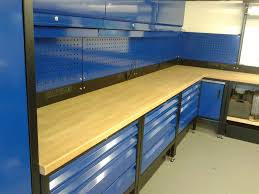 paf systems custom fitted garage workshop benches