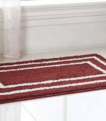 Burgundy Bathroom Rugs Bath Mats Us Furniture Discount Inc