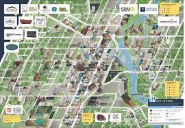 Chicago Downtown Map by Map Downtown South Bend