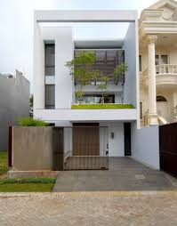 A minimalist house in Jakarta  Architektur  Pinterest  House