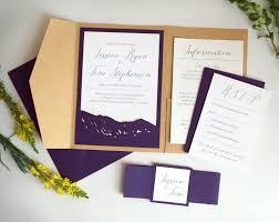 Pocket Wedding Invites Invitations Archives Wild Blue Weddings