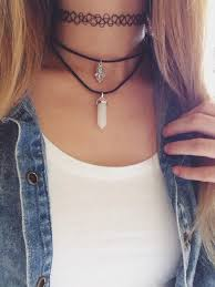 choker necklace layered images Layered chokers on the hunt jpg