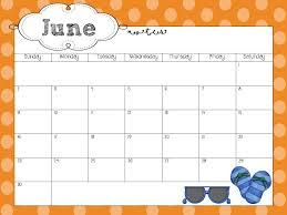sample calendar template