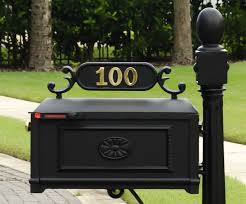 venia mailboxes curbside barcelona mailbox with