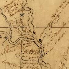 map of missouri river missouri river map used by lewis and clark 1798