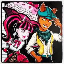draculaura and clawd image 119441 high draculaura and clawd wolf jpg