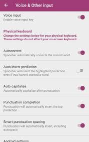 android settings how to use swiftkey with physical external bluetooth keyboards on