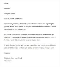 cover letter after interview thank you letters are used to