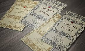Engagement Ceremony Invitation Engagement Ceremony Invite Paromita U0026 Naresh On Behance