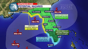 Weather Map Florida by Tropical Storm Expected To Hit Florida This Week Uf Weather Center
