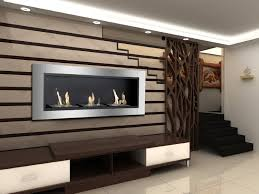 ardella bio ethanol recessed wall fireplace