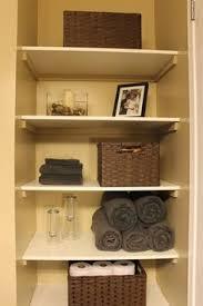 bathroom closet shelving ideas diy built in shelving for my bathroom shelving storage and