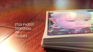 insta photos slideshow after effects template