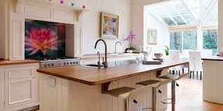 open plan kitchen kitchens by milestone
