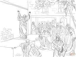 prophet haggai pleads for the rebuilding of the temple coloring