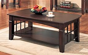 country style coffee table amazon com coaster antique country style coffee table cherry