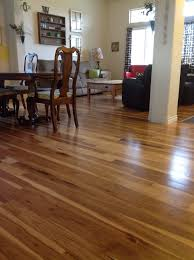 dining room cozy pergo flooring with oak wood cabinets for