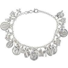 sterling silver bracelet with charms images Zoe kay jewellery ladies bracelets jpg