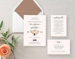 Wedding Invitation Diy Wedding Invitation Kits Au