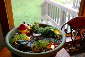create your own fairy garden into a story