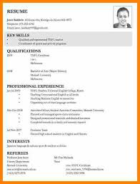 curriculum vitae for job application pdf 10 exles of cv for job applications quote letter