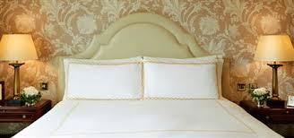 Mascioni Bed Linen - luxury london accommodation guest rooms the savoy london