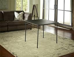 cosco square folding table amazon com cosco dorel industries square vinyl top folding dining