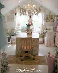 Pink Craft Room - 5 pretty pink craft rooms cottage magpie