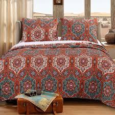 barefoot bungalow sofia reversible quilt set reviews wayfair