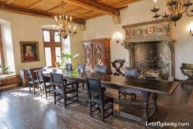 castle dining room best ways to get to and visit vianden castle with kids