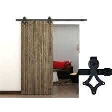 Hanging Sliding Closet Doors Closet Door Hardware Hanging Sliding Door Hardware Set Kit
