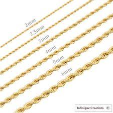 gold chain necklaces solid gold chains u0026 men u0027s chain ebay