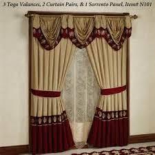 Burgundy Valances For Windows 24 Best Curtains Images On Pinterest Burgundy Curtain Ideas And