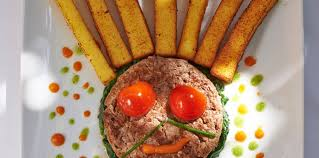 cuisine steak haché steak haché et frites de polenta facile et pas cher recette sur