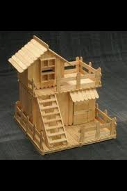 76 Best Images About Stick - popsicle stick house ideas