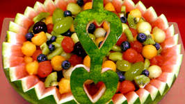how to make fruit baskets how to make a watermelon fruit basket by gourmandise ifood tv
