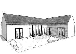 plan maison 3 chambres plain pied plan maison de plain pied 100 m avec 3 chambres ooreka