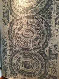 Pottery Barn Rugs Canada Pottery Barn Bosworth Printed Wool Rug 8 X 10 Gray New With
