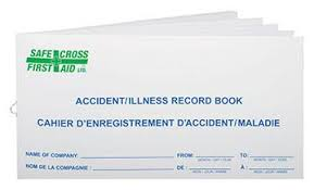 accident reporting book first aid supplies u2013 heart beat inc