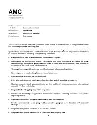 Consulting Resume Example Blank Sample Resume For Leasing Consultant Personable In Leasing