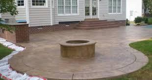 stamped concrete patio ideas interior design