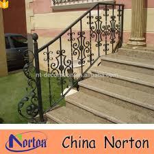 home depot stair railings interior metal handrails for concrete steps home decor l160 handrail